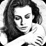 icon Portrait Sketch