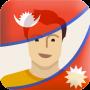 icon Nepal Flag Photo Editor