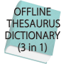 icon Offline Thesaurus Dictionary