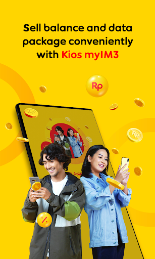 myIM3 - Top up balance, buy package, get rewarded!